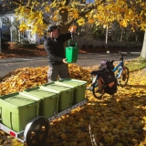 Bike-Powered Food Scrap Collection