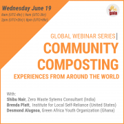 GAIA Webinar — Community Composting: Experiences Around the World