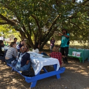 Hot Composting Class at Real Food Farm
