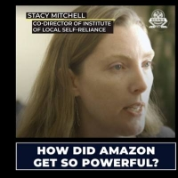 In Videos for Bernie Sanders, ILSR's Stacy Mitchell Explains Amazon's Monopoly Power