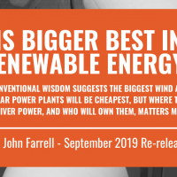 Report Re-release: Is Bigger Best in Renewable Energy?