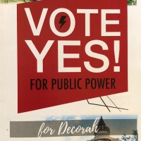 Vote for Decorah Municipal Utility Falls Short, But Local Energy Advocates Persist
