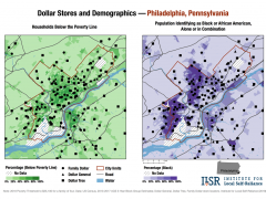 Maps Show Alarming Pattern of Dollar Stores' Spread in U.S. Cities