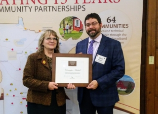 Blandin Foundation Recognizes Christopher Mitchell's Leadership on Broadband Policy