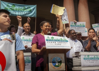 Voices of 100%: Will Portland Voters Opt for New Equitable Clean Energy Fund? — Episode 63 of Local Energy Rules Podcast
