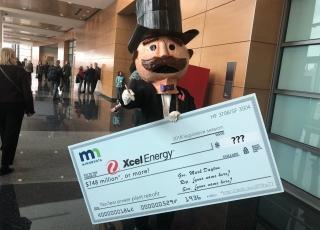 "ILSR Video Parody Lampoons Xcel Energy's Ask for ""Blank Check"" in Minnesota Legislature"