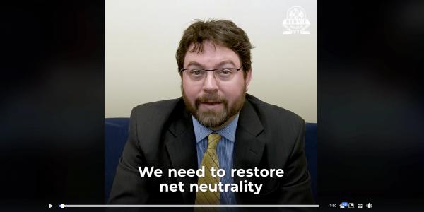 Press Release: Losing Net Neutrality will Harm Rural America, ILSR Broadband Expert featured in Bernie Sanders video
