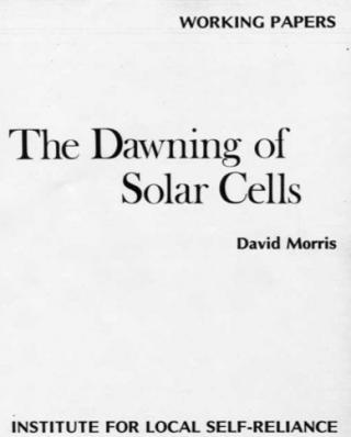 dawningofsolarcells