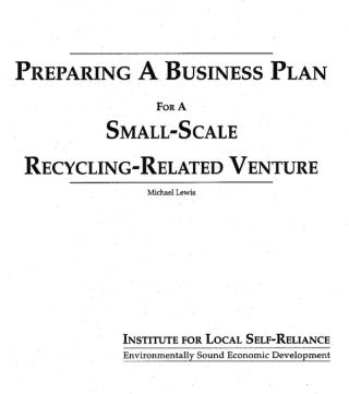 preparingbusinessplan
