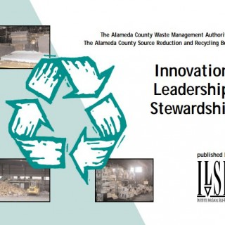 Alameda County WMA Innovation, Leadership, Stewardship cover