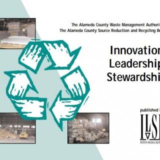 Alameda County WMA Innovation, Leadership, Stewardship cover