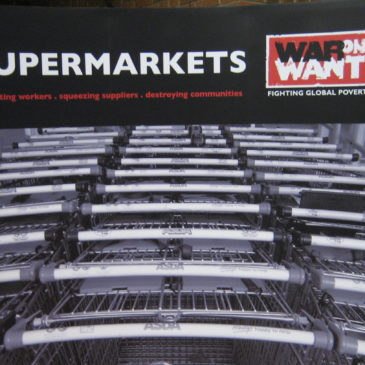 Banner: Supersized Supermarkets