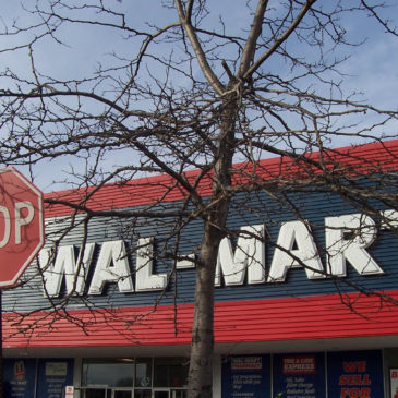 Keep Your Eyes on the Size: The impossibility of a green Wal-Mart