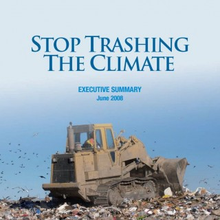 stop trashing the climate cover