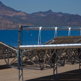 Solar Thermal Parabolic Trough