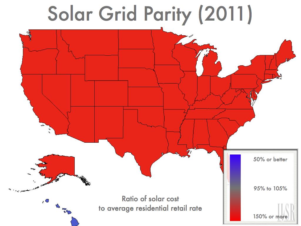 Solar Grid Parity 2011