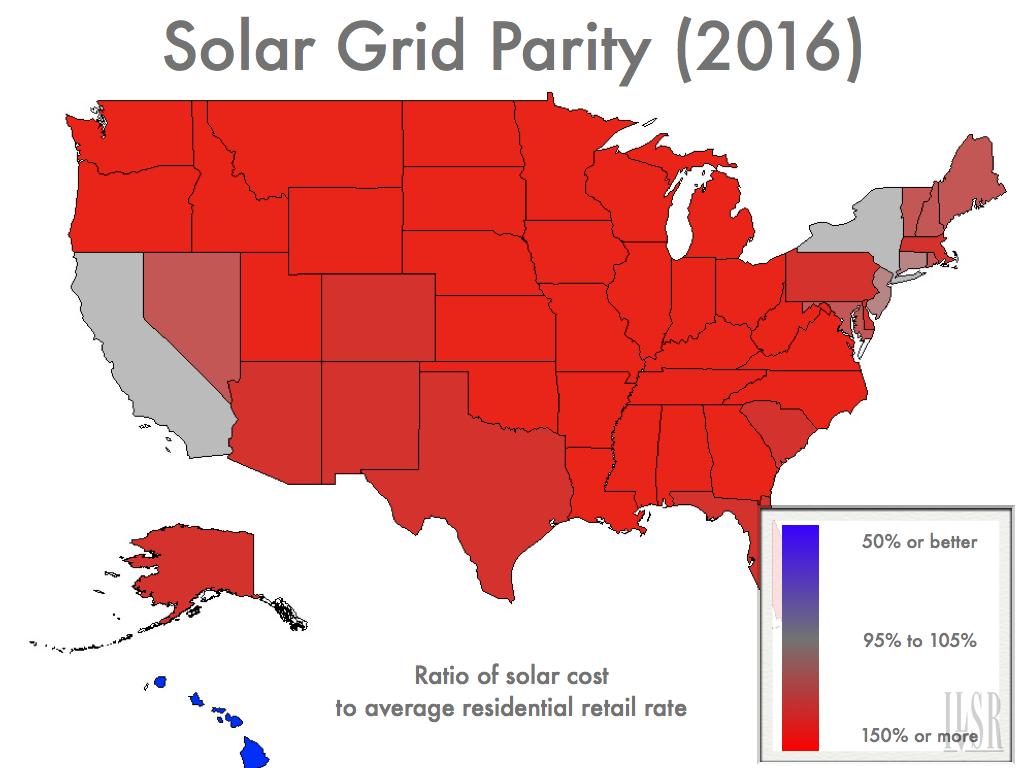 Solar Grid Parity 2016