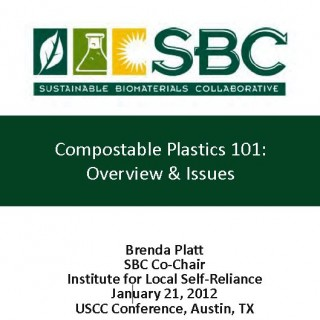 Cover Compostable Plastics 101: Overview & Issues