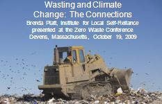 Cover Wasting and Climate Change: The Connections