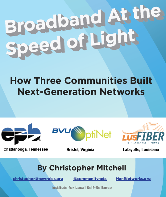 Broadband at the Speed of Light
