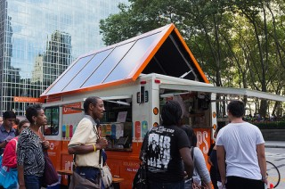 Sungevity's Solar Powered Popsicle Truck
