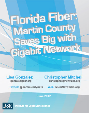 Martin County Fiber Network Report Cover