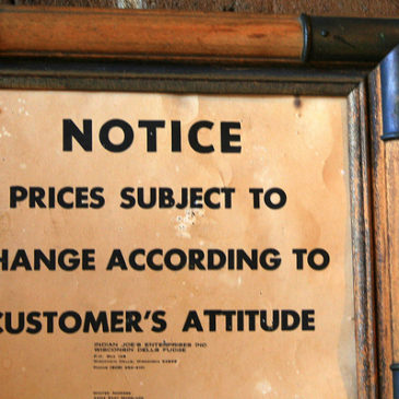 For Quality Customer Service Go to Government, Not Business
