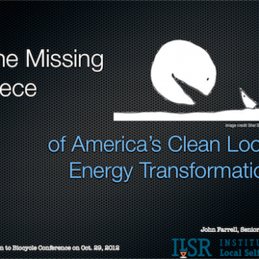The Missing Piece in the Clean Local Energy Transformation