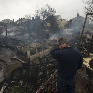 Devastation by Sandy