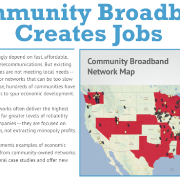 Community Networks and Economic Development Fact Sheet