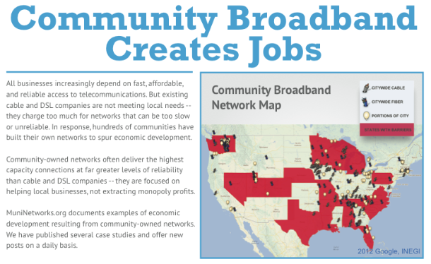 ILSR Releases New Community Network and Economic Development Fact Sheet