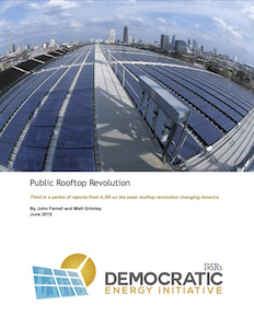 Press Release: Public Rooftop Revolution