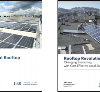Rooftop Revolution report covers