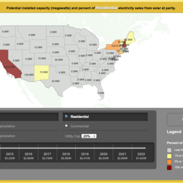 The Most Amazing, Interactive U.S. Solar Grid Parity Map