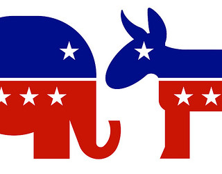 Republican democrat symbols