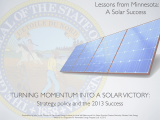 Lessons from Minnesota- A Solar Success - web