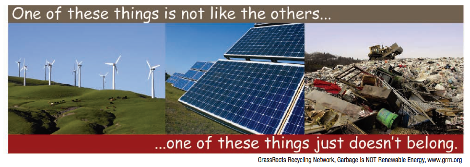 trash is not renewable