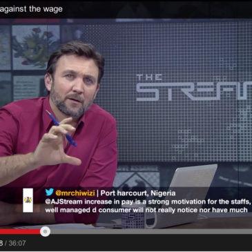Stacy Mitchell Talks Living Wage & Walmart on Al Jazeera English