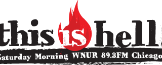 Logo: This is Hell WNUR