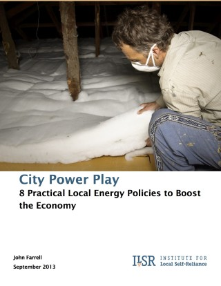 City Power Play - cover
