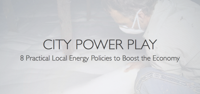 12 Slides for 8 Practical Local Energy Policies to Boost the Economy