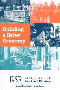 2013 Annual Report cover screen shot