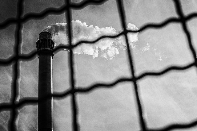 coal power plant - revoltee flickr