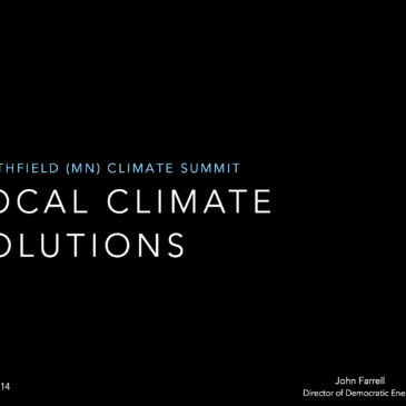 Local Climate Solutions