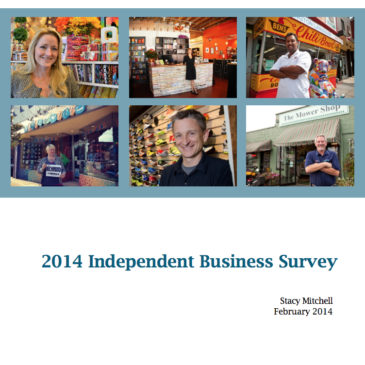 Image: 2014 Independent Business Survey Cover