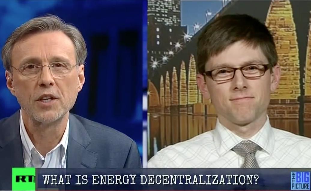 Watch: John Farrell Talks Energy Decentralization on Thom ...