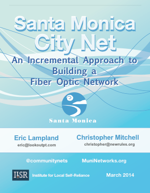 Santa Monica City Net: An Incremental Approach to Building a Fiber Optic Network