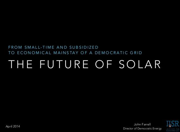 An Enormous Question for 'Solar Choice'