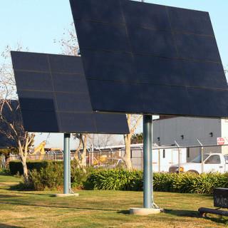 solar panels palo alto - flickr user bike