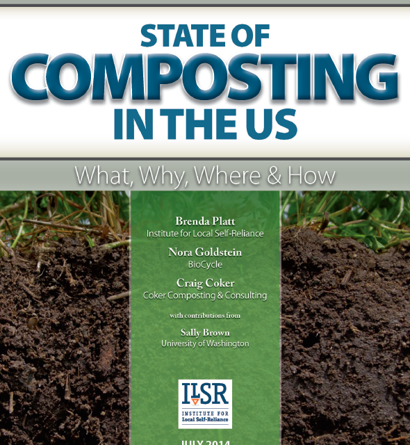 Cover State of Composting in US